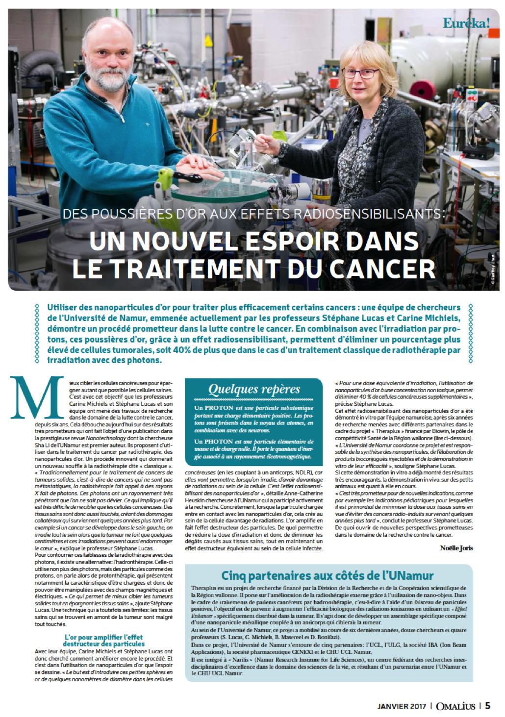 Un nouvel espoir dans le traitement du cancer